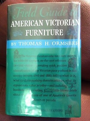 Field Guide to American Victorian Furniture by Thomas H. Ormsbree (HC, 1952)