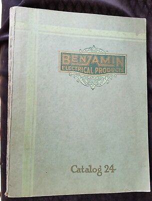 1929 Catalog Benjamin Electrical Products Light Fixtures Reflectors Chicago NY