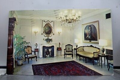 Louisiana LA New Orleans Prince Conti Hotel Lobby Postcard Old Vintage Card View