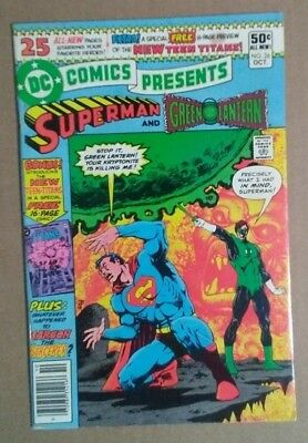 DC COMICS PRESENTS #26 1st TEEN TITANS (read description)