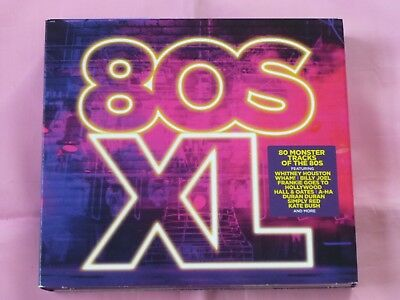 80S XL 80 Monster Tracks of the 80's Fantastic 2016 4CD Electro Chart Pop Dance