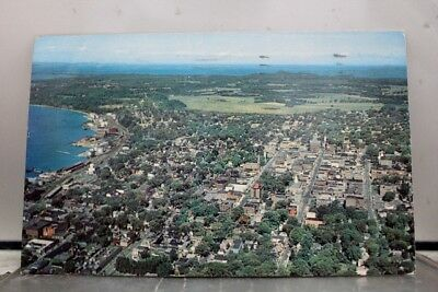 Vermont VT Burlington Lake Champlain Queen City Postcard Old Vintage Card View