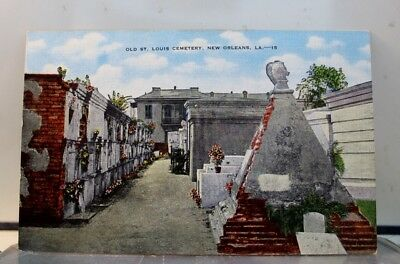 Louisiana LA New Orleans St Louis Cemetery Postcard Old Vintage Card View Post