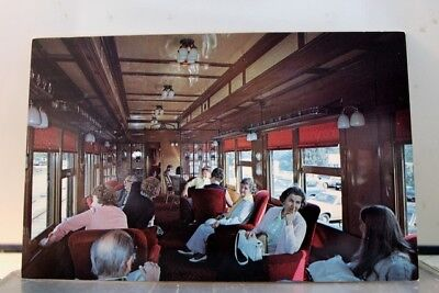 Connecticut CT Essex Valley Railroad Pullman Car Postcard Old Vintage Card View