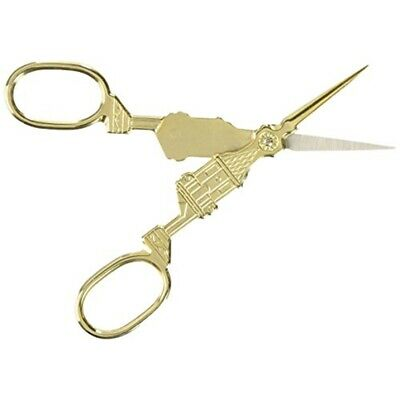 "Products From Abroad Designer Embroidery Scissors 5.5""-big Ben - Gold"