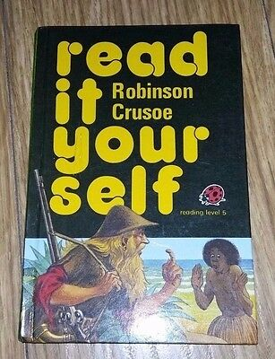 Ladybird Book - Read It Yourself - Robinson Crusoe - Series 777