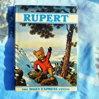 Born in 1970? Super vintage Rupert annual Christmas gift! near mint condition