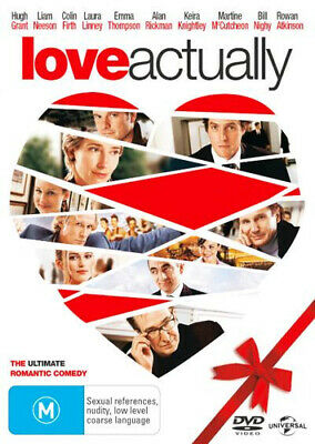 NEW Love Actually DVD Free Shipping