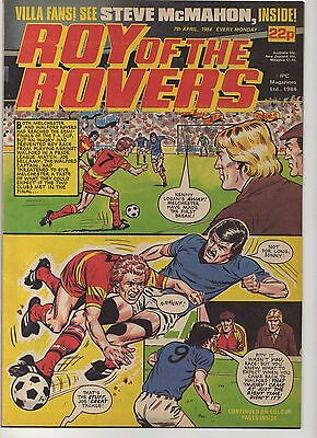ROY OF THE ROVERS 7th APRIL 1984 EXCELLENT CONDITION