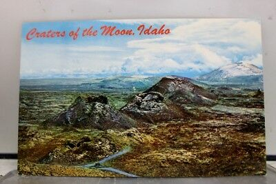 Idaho ID Spatter Cones Craters of Moon Monument Postcard Old Vintage Card View