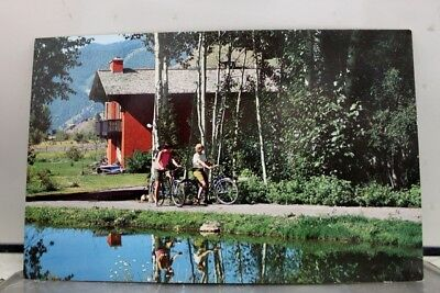 Idaho ID Lodge Apartments Sun Valley Postcard Old Vintage Card View Standard PC