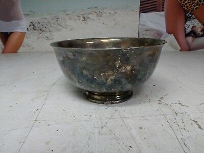 Vintage Reed & Barton 105 Silver Plated Round Bowl