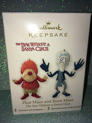 THE YEAR WITHOUT A SANTA CLAUS 2012 hallmark ornament HEAT MISER and SNOW MISER