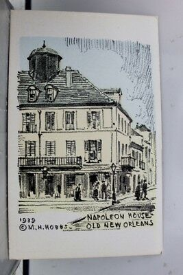 Louisiana LA Napoleon House New Orleans Postcard Old Vintage Card View Standard