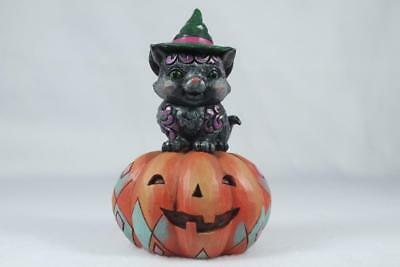 Jim Shore 'Mischief In The Making' 2018 Pint Size Black Cat #6001548 New In Box