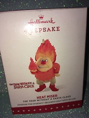 THE YEAR WITHOUT A SANTA CLAUS 2015 HEAT MISER hallmark ornament THE HEAT MISER