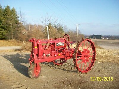 Farmall F 12 Antique Tractor NO RESERVE Single Front 20 30 deere allis oliver b