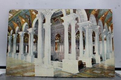 Washington DC Library of Congress Postcard Old Vintage Card View Standard Post