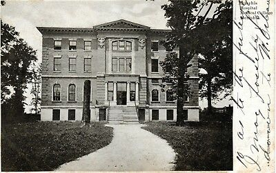 ~1906 MEMPHIS TN - Memphis Hospital Medical College - early B&W view