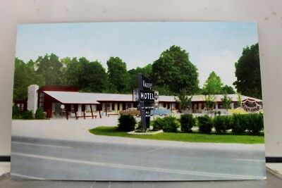 Indiana IN Valley Motel Terre Haute Postcard Old Vintage Card View Standard Post
