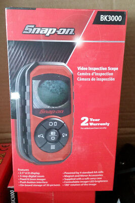 Snap-On Bk3000 Digital Hand Held Video Inspection Scope Lcd Display Sealed New