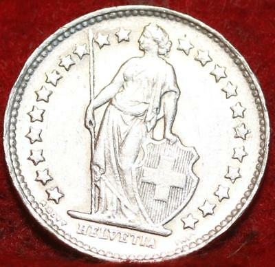 1946 Switzerland 1/2 Franc Silver Foreign Coin