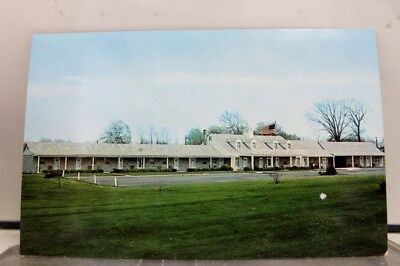 Indiana IN Tearman Motel Franklin Postcard Old Vintage Card View Standard Post