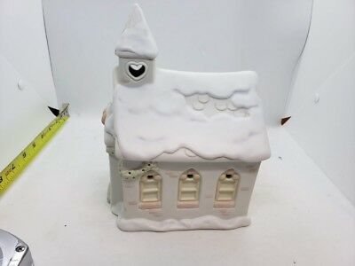 Precious Moments Sugartown CHAPEL NIGHTLIGHT Christmas House Figurine in Box