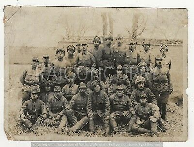 Original Wwii Photo: Army Soldiers, China War!!
