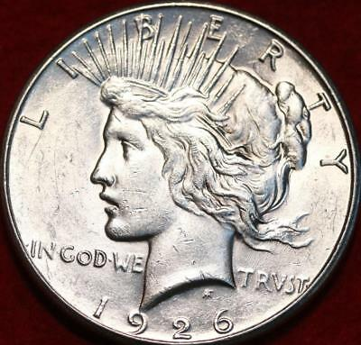 Uncirculated 1926-S San Francisco Mint Silver Peace Dollar