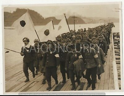 Original Wwii Japanese Photo: Army Soldiers, China War!!