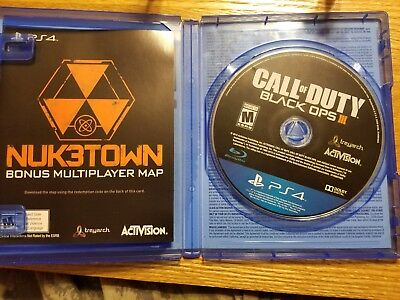 Call of Duty: Black Ops III (SONY PlayStation 4,2015) in great condition