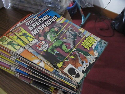 G. I. Joe Special Missions lot of 13 comics VG+/Fine or better