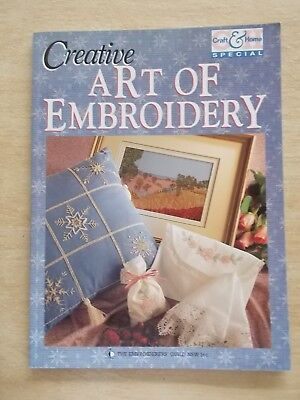 Creative Art of Embroidery~Patterns~80pp P/B~19976