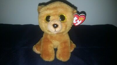 TY ORIGINAL Beanie Babies Brownie The Bear 2016 - 6 Inches Tall MWMT