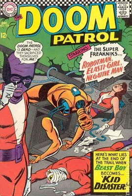 Doom Patrol (1st Series) #108 1966 VG- 3.5 Stock Image Low Grade