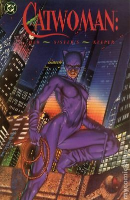 Catwoman Her Sister's Keeper TPB (DC Edition) #1-1ST 1991 VF Stock Image