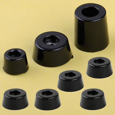 8x Rubber Foot Pad Stand Shock Absorber For Speaker Cabinet Furniture Table Box
