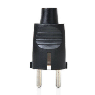 Quality Schuko European Rewireable Two Round Plug 250V 16 Amp CCE Standard Plug