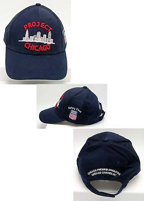 PROJECT CHICAGO ~ UNION PACIFIC RAILROAD Issue SAFETY FIRST BALL CAP ~ MINT