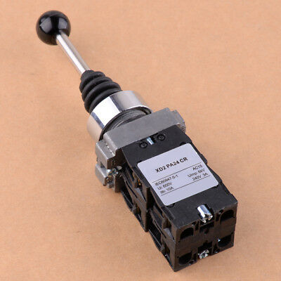 XD2PA24CR 4NO 4 Positions Momentary Spring Return Wobble Joystick Switch NEW