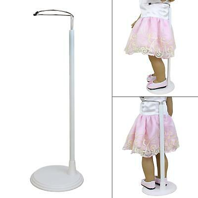 2pcs Adjustable Doll Stand for 14-18 Inch Girl Doll Baby Dolls Display Holder