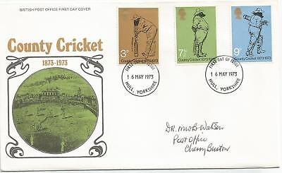 Gb Fdc 1973 County Cricket Centenary