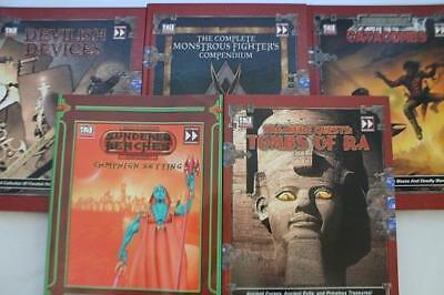 Fast Forwa d20 RPG Fast Forward Entertainment D20 Sourcebook Collection  Box NM