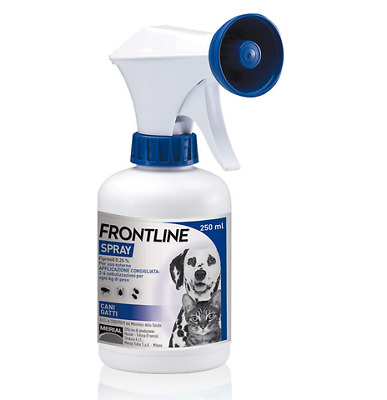FRONTLINE SPRAY PER CANI E GATTI 100/250 ml.
