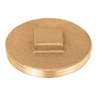 Sioux Chief Clean Out Replacement Plug Brass 2-1/2 ""
