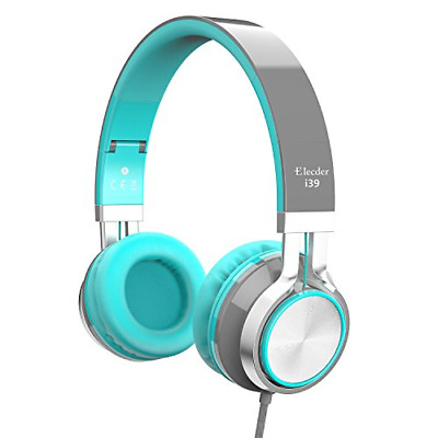 Elecder i39 Headphones with Microphone for Kids Children Girls Boys Teens Adults