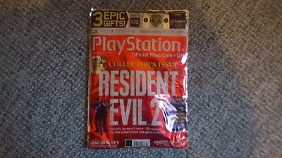 Official Playstation Magazine XMAS 2018 RESIDENT EVIL 2 new