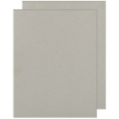"We R Cinch Book Board 8.5""x11"" 2/pkg-gray Chipboard"
