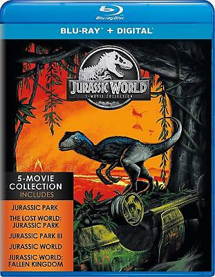 Jurassic World / Park - 5 Movie Collection Blu-Ray + Digital Set BRAND NEW 1 5